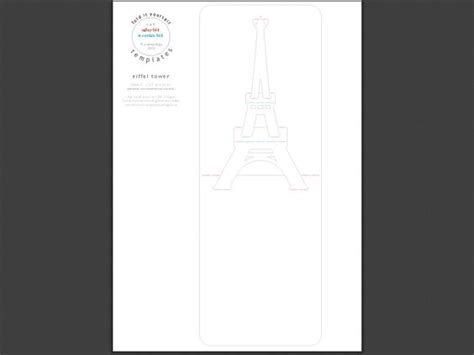 pop up cards templates eiffel tower eiffel tower kirigami 1 eiffel towers and