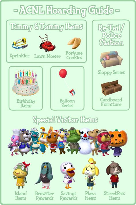 acnl hair list animalcrossing us ancl hoarding guide aka unorderable