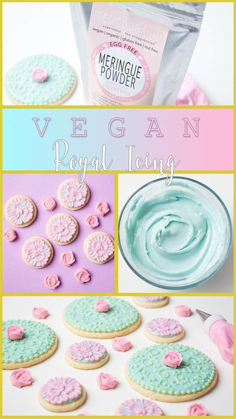 vegan royal icing  meringueshops egg  meringue