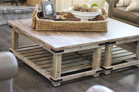what to put on a coffee table a creative option when you need a large coffee table