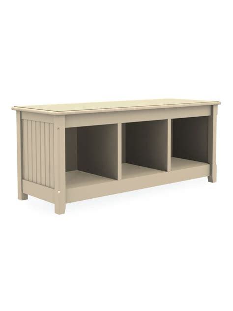 cottage benches cottage 3 cubbie storage bench cottage home 174