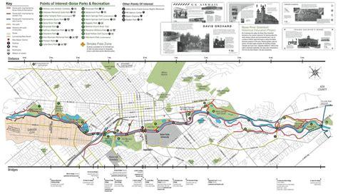 Garden City Greenbelt Boise Greenbelt Map Adriftskateshop