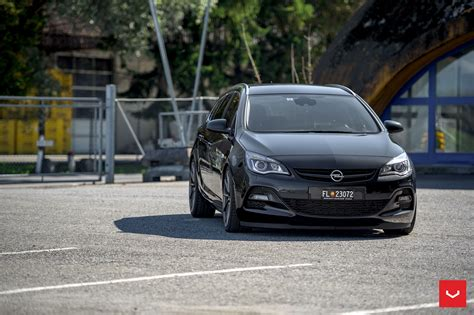 opel astra wagon opel astra j wagon doubles its value with vossen cvt
