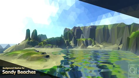 vistas polyworld  poly tools   art  unity