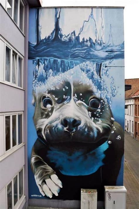 amazing huge street art  building walls bored art