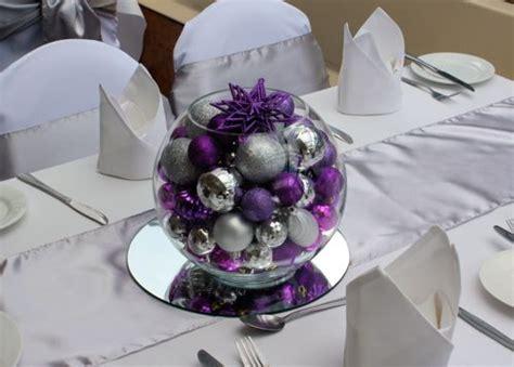 round vase bowls and silver centerpiece on pinterest