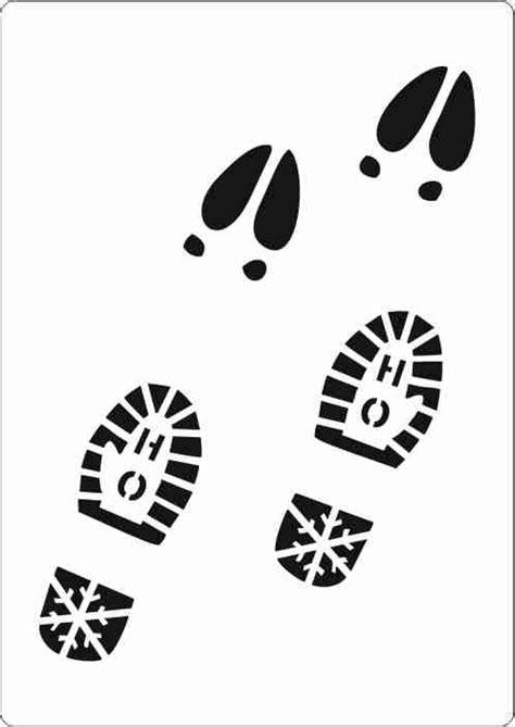 printable elf footprints download related keywords suggestions elf silhouette long