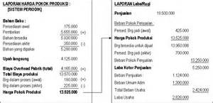 contoh laporan harga pokok produksi contoh 917
