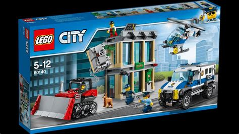Banc Lego by The Lego City Bank Robbery Set