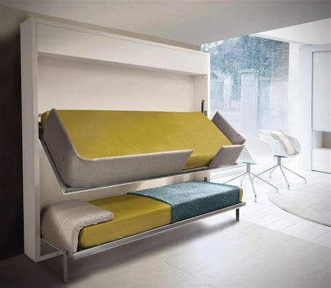 Small Bunk Bed | small spaces urban lollisoft murphy bunk beds hiconsumption