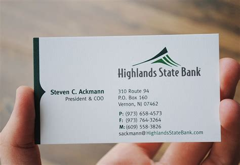 business card bank branding your bank right designmantic the design shop