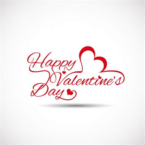 valentines day card background valentines card with white background vector free