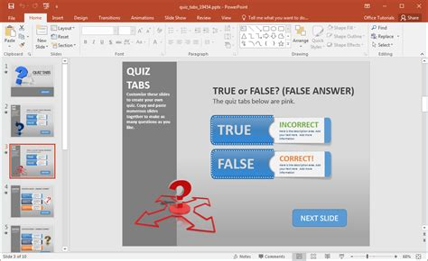 animated powerpoint quiz template for conducting quizzes animated powerpoint quiz template for conducting quizzes