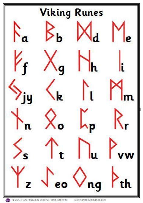 printable runic alphabet viking de 25 bedste id 233 er inden for norse symbols p 229 pinterest