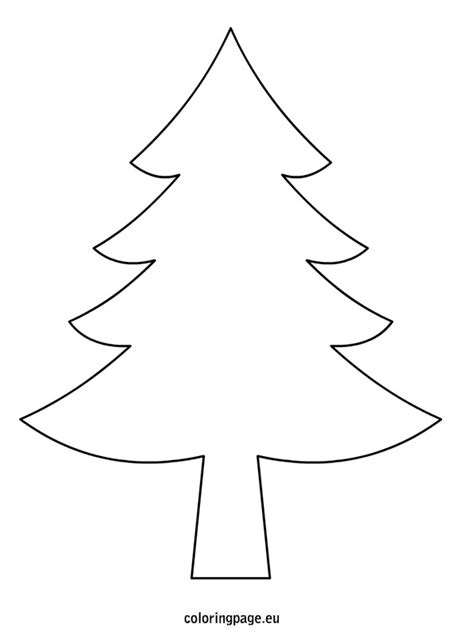 best photos of christmas tree outline template christmas