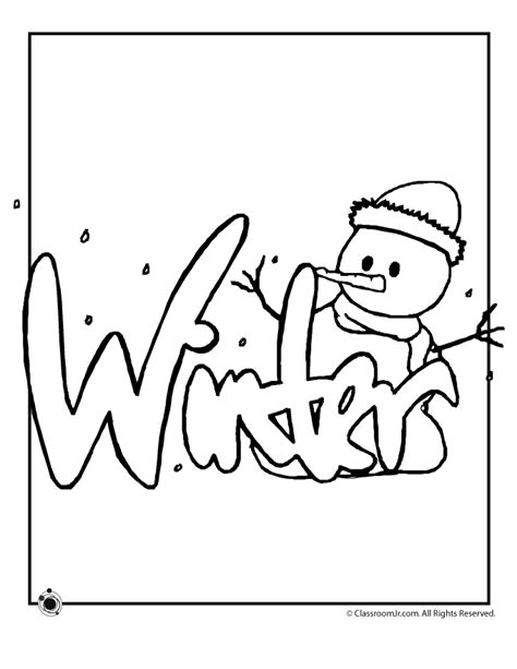 winter coloring pages woo jr kids activities