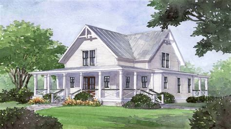 farmhouse southern living house plans southern living house plan four gables southern living four gables house