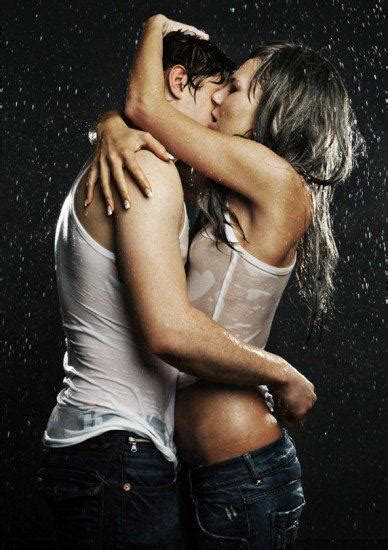 Hot romancing couple images