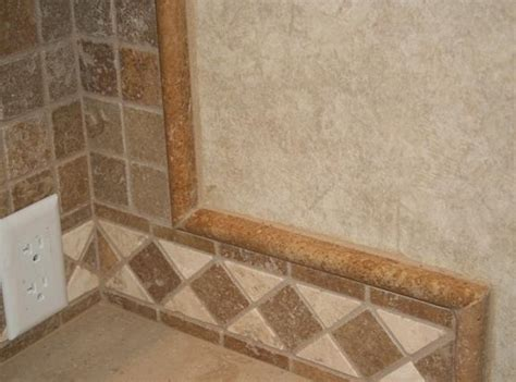 Decorative Kitchen Backsplash Tiles Pencil Tile Trim Tile Work Edges Are Now Tile Pencil