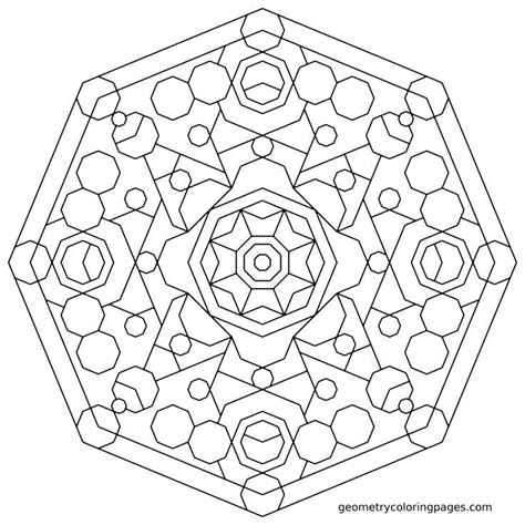 abstract geometric coloring page geometry coloring page patte geometry mandala