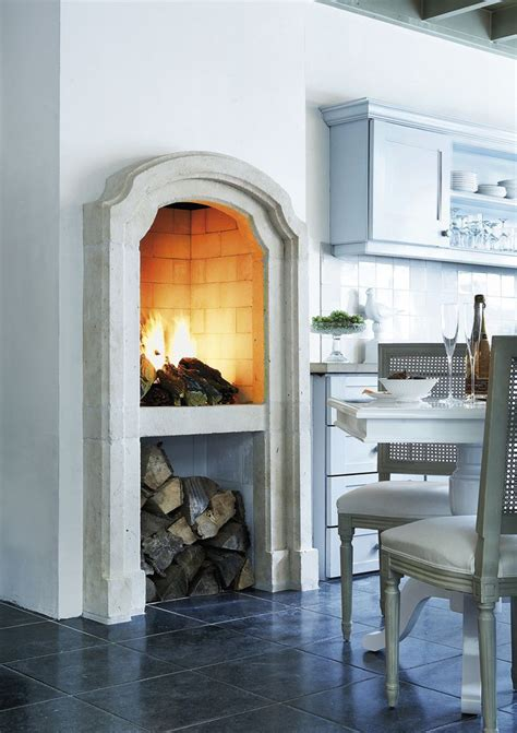 kitchen fireplace design ideas a tuscan vacation made me fall in w this kitchen feature designed