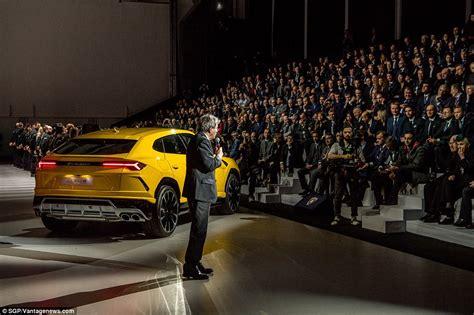 Pronounce Lamborghini Lamborghini Reveals Its Urus Supercar Suv Us Morning