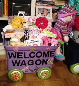 welcome wagon american baby shower themes
