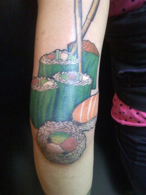 sushi tattoo 76 best images about food tattoos on sushi