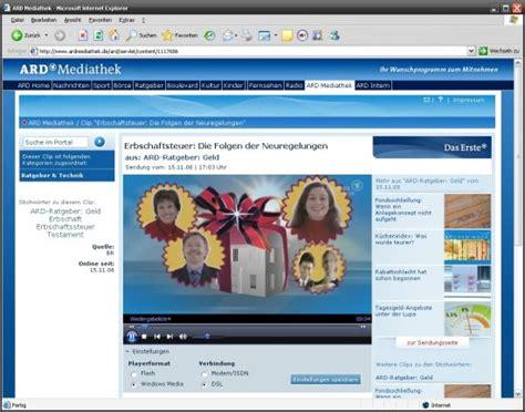 zdf mediathek im html format wmv livevideos empfangen player statt browser