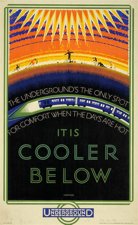 vintage london underground posters  exhibition