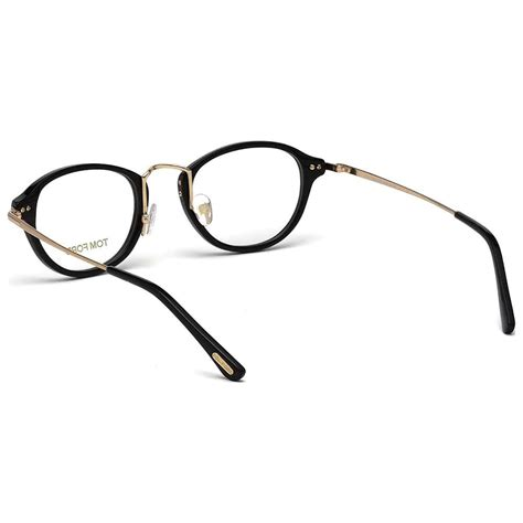 tom ford eyeglasses tf 5321 black and light gold