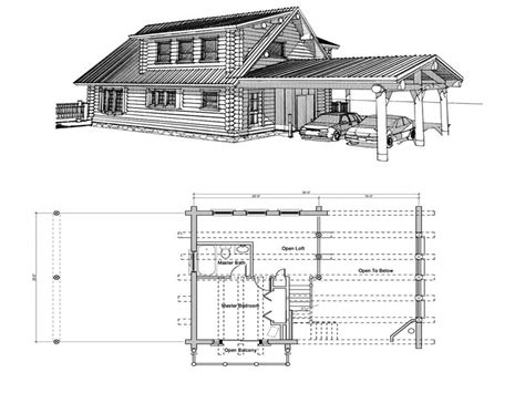 Cabin Plans by Small Log Cabin Floor Plans With Loft Rustic Log Cabins