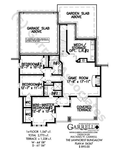 house plans floor plans lawncrest bungalow house plan craftsman house plans