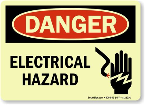 Danger Danger Cowok Size S electrical hazard signs osha ansi compliant