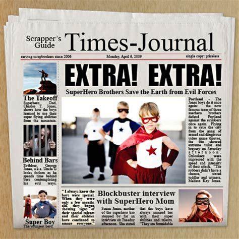 customizable newspaper adobe photoshop template