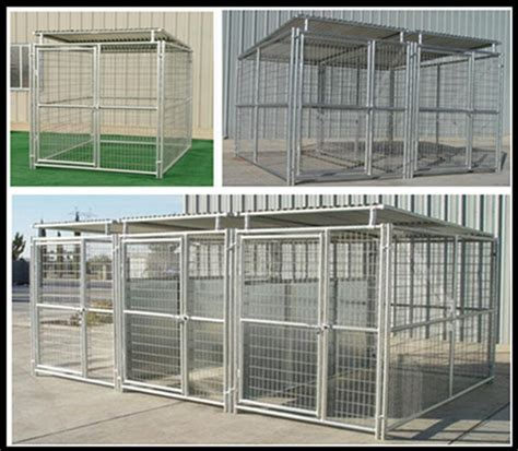 Kennel Sections by China Supplier Wholesale 2 Sections Animals Fence Pens Big