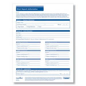 direct deposit form downloadable