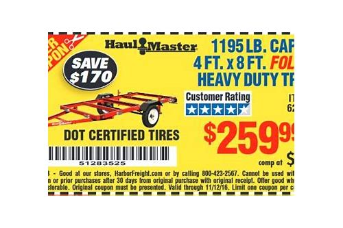 harbor freight folding trailer coupon 2018