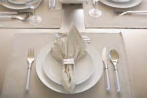 Setting A Proper Table For Dinner - flatware placement guide simple home decoration