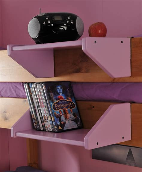 Stompa Clip On Shelf by Stompa Clip On Shelf White Lilac Blue