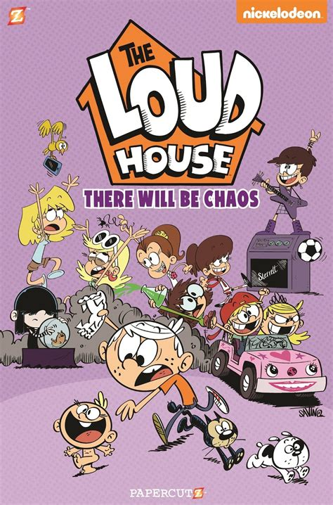 the book house nickalive new quot the loud house quot books and dvd announced