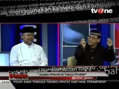 Kursi Tamu Joko Bodho debat seru imam besar istiqlal vs paranormal politik ki joko bodo rosyady part 5