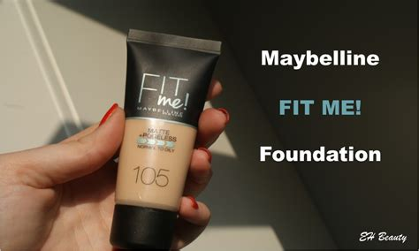 Maybelline Fit Me Matte Poreless Foundation Review review maybelline fit me matte poreless foundation everything makeup and lifestyle
