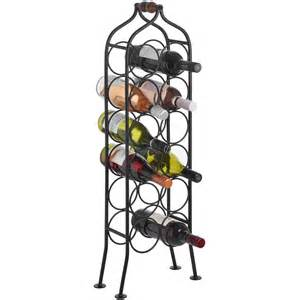 Black Wrought Iron Wine Rack by 12 Bottle Wrought Iron Wine Rack