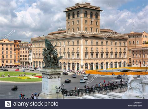 buy house rome assicurazioni generali palace piazza venezia rome italy stock photo royalty free