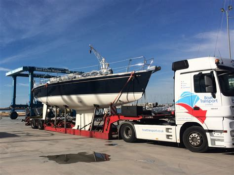 boat transport uk specifications boat transport boat haulage by road