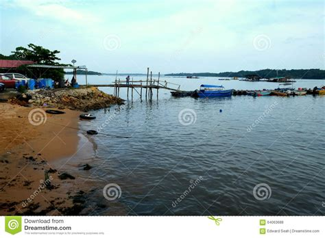 graphic design pasir gudang village jetty stock photo image 64063688