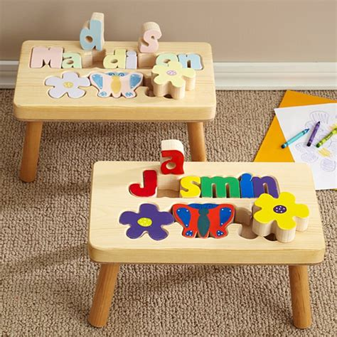 Name Puzzle Step Stool By Melissadoug by Baby Gifts Gifts For Baby Boys Baby Gifts