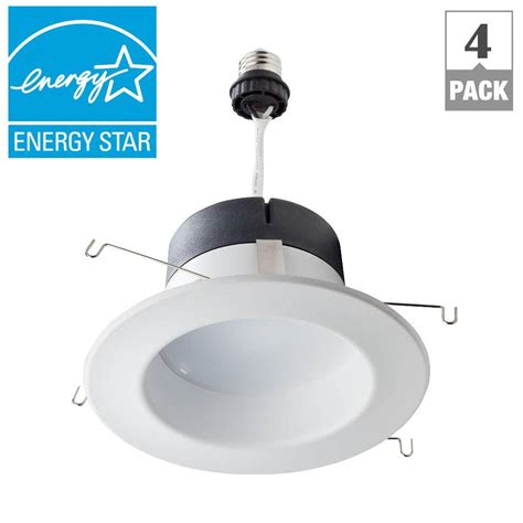 Fitting Lu Downlight Philips philips 65w equivalent daylight 5 6 in retrofit trim recessed downlight dimmable led flood