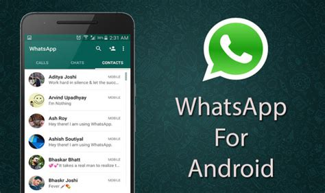 version of whatsapp for android apk whatsapp 2 16 278 apk for android version